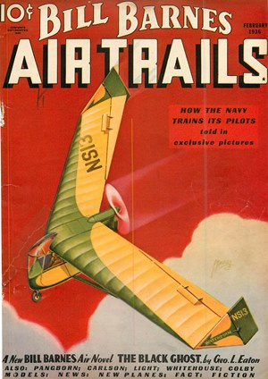 Air Trails February 1936
