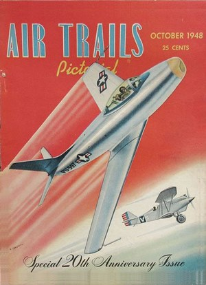 Air Trails October 1948