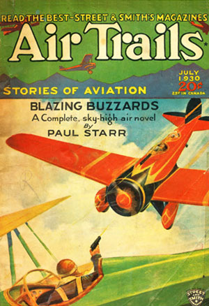 Air Trails July 1930