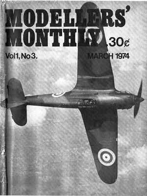 Modellers Monthly March 1974
