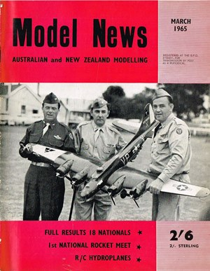 Model News March 1965