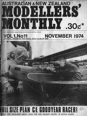 Modellers Monthly November 1974