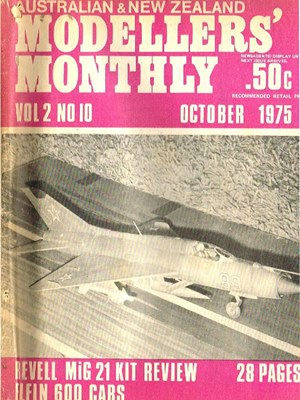 Modellers Monthly October 1975