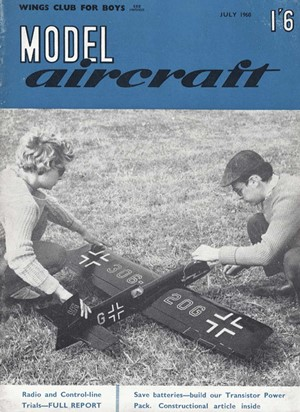 Model Aircraft July 1960