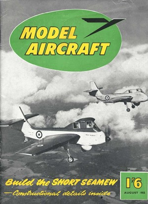 Model Aircraft August 1955