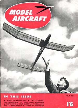 Model Aircraft July 1952