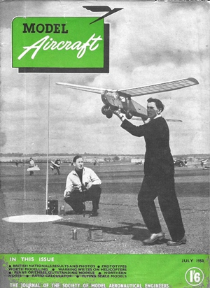 Model Aircraft July 1950