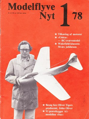 Modelflyvenyt January 1978-1