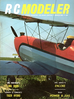RCModeler March 1967