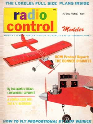 RCModeler April 1965