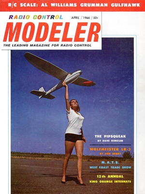 RCModeler April 1966