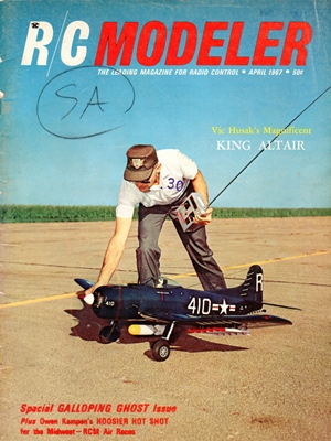 RCModeler April 1967