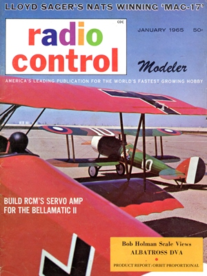 RCModeler January 1965