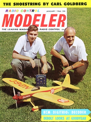 RCModeler January 1966
