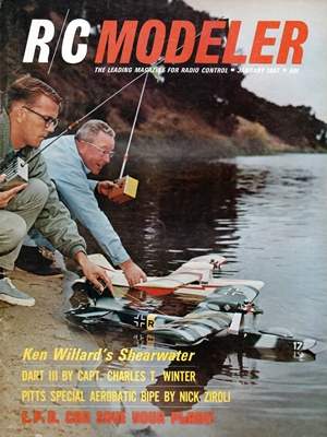 RCModeler January 1967