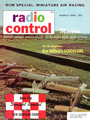 RCModeler March 1965