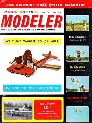 RCModeler March 1966