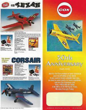 Cox Catalog 50 Th Annyversary