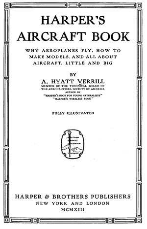 Harpers Aircraft Book