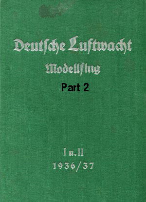 Luftwacht Modellflug 1936 - 37 Part 2