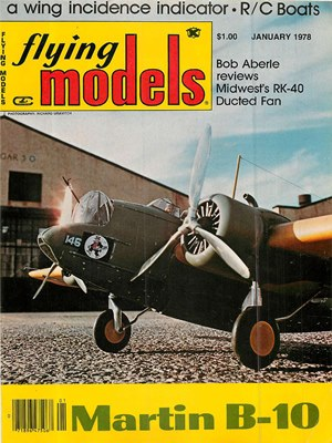 Flying Models January 1978