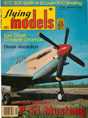 Flying Models January 1979