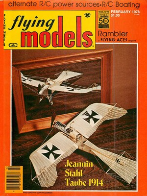 Flying Models February 1978