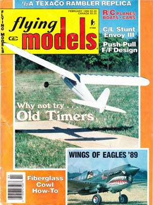 Flying Models February 1990