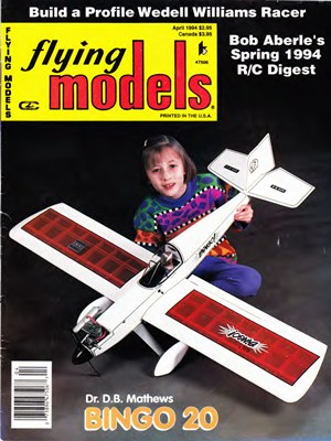 Flying Models April 1994