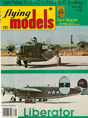 Flying Models May 1978