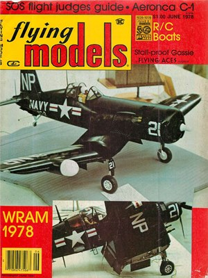 Flying Models June 1978