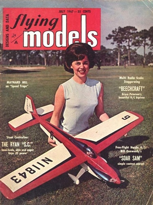 Flying Models July 1967