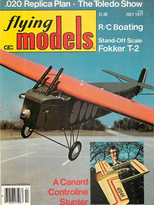 Flying Models July 1977