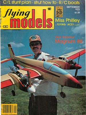 Flying Models September 1978