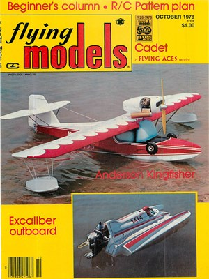 Flying Models October 1978