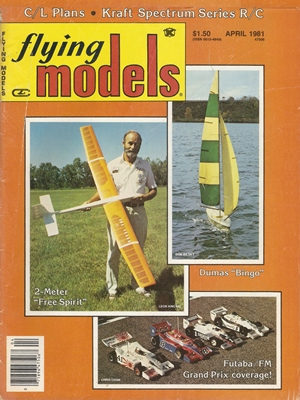 Flying Models April 1981