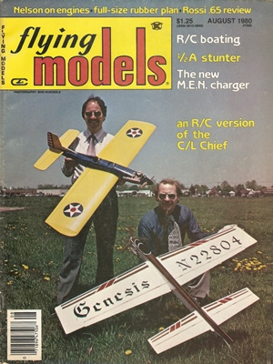 Flying Models August 1980