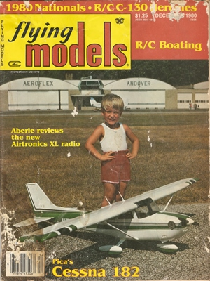 Flying Models December 1980