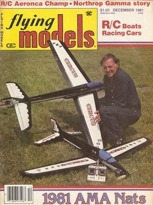 Flying Models December 1981