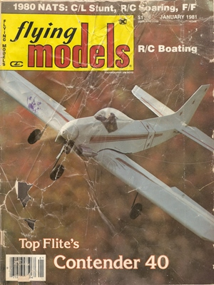 Flying Models January 1981