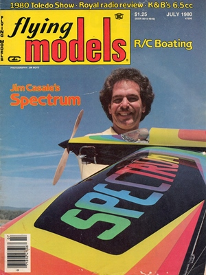 Flying Models July 1980