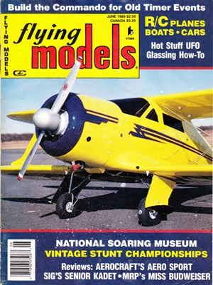 Flying Models June 1989