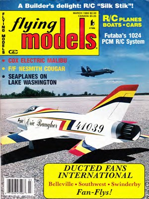 Flying Models March 1989