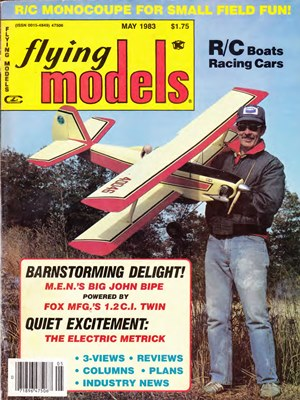 Flying Models May 1983