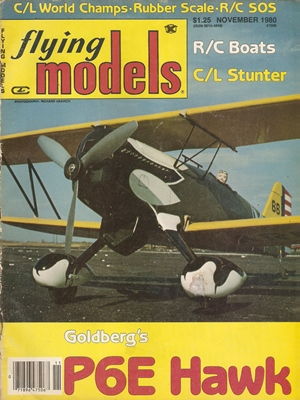 Flying Models November 1980