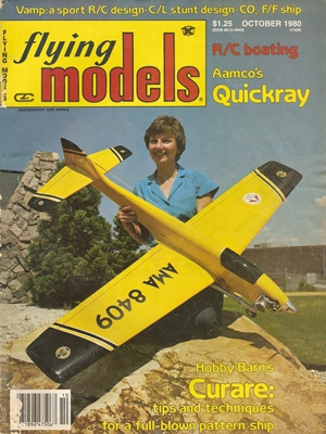 Flying Models October 1980