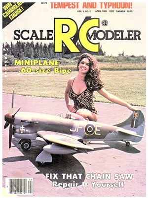 RC Bookcase - Vintage Model Airplane Magazines, Catalogs