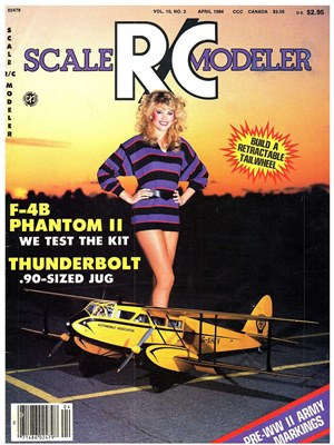 Scale RC Modeler April 1984