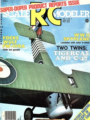 Scale RC Modeler June 1978
