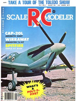 Scale RC Modeler August 1981
